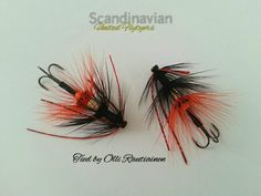 Black-orange ullsocken! By Olli Rautiainen