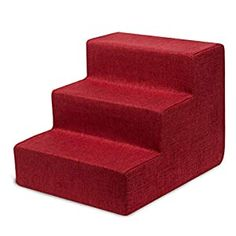 awesome Best Pet Supplies USA Made Pet Steps/Stairs with CertiPUR-US Certified Foam for Dogs & Cats Relieves Stress: Our stairs are the perfect accessory to help pets reach that high bed or couch! Available in 3-step, 4-step, and 5-step configurations to easily match your furniture's height. Supports Pet Health: Made with mattress-grade cushioning to relieve pressure on paws and joints. Save T... Stairs Covering, Dog Steps, Pet Health, Dog Supplies, How To Relieve Stress, Mattress, Dog Cat, Couch, Usa
