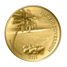 1 oz Gold Pacific Sovereign Bullion Coin | New Zealand mint