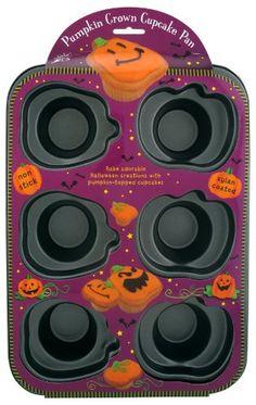 Pumpkin Crown Cupcake Pan ** Huge discounts available at : Baking pans