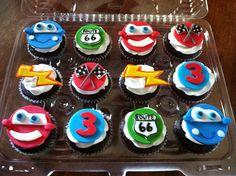 disney cars cupcakes | Disney Cars Cupcakes | Flickr - Photo Sharing!