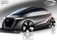 Audi A 2.0 e-tron concept car 9