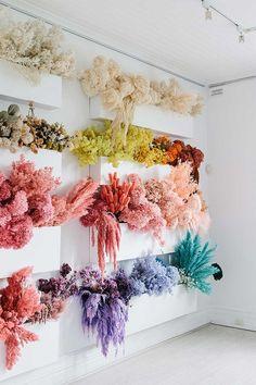 Pineapple Flowers, Hibiscus Flowers, Pink Flowers, Faux Flowers, Dried Flower Arrangements, Dried Flowers, Vase Arrangements, Flower Shop Design, Floral Design