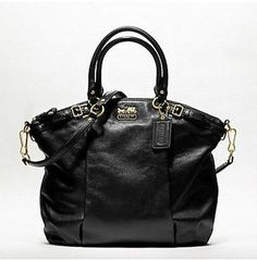 Coach Madison Lindsay Handbag Style # 18641 - GORGEOUS