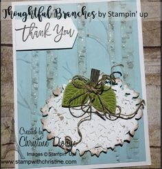Thoughtful Branches - Bundle, Stampin' Up! Branches, Stampin Up, Create, Image, Decor, Decoration, Stamping Up, Decorating, Eggplant
