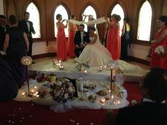 A Persian wedding in our Chapel