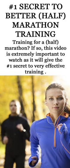 The number 1 secret to better (half) marathon training. #running #marathon #halfmarathon #runningtips #runningadvice
