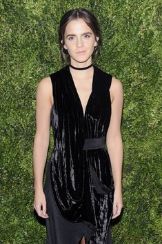 Emma Watson attends the 2016 Museum of Modern Art Film Benefit - A Tribute to Tom Hanks.