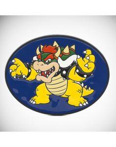 Nintendo Bowser Flying Enamel Belt Buckle