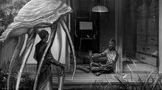 「今日は結構降るから、こっちに泊まりにこい」「おう」 Nerevarine Kaleoo & Teldryn Sero 忙しくて、久しぶりに絵が描けた気分。ArtにCommentをありがとう!お返事お待たせしますが、嬉しいです。 good night ;)