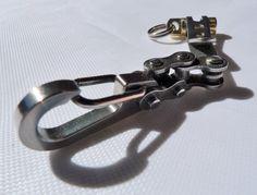 Suspension Keychain 3Bike-link por EdcApparatus en Etsy