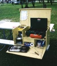 -== Paul's Camp Kitchen ==-kitchen box!