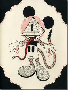 Mickey - satanismo ocultismo