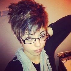 Spikey hair