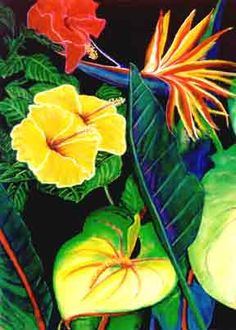 Hawaii artist Donald K. Hall