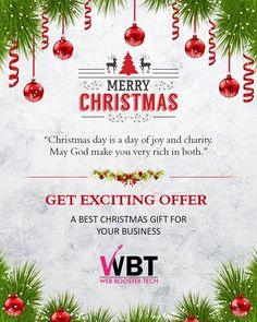 """🎈🎈🎁🎁🎇🎉🎆🎊🎇🎉🎆🎁🎁🎈🎈 """"I hope this will bring good luck and good health for you and your family. Sending you a very warm wish of 👉Merry Christmas👌."""" 👉WEB BOOSTER TECH👈 wishing you all 👉Merry Christmas👌 Merry Christmas, Christmas Gifts, God Made You, Best Digital Marketing Company, Get Excited, Festive, Personality, Web Design, Happiness"""