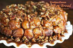Melissa's Southern Style Kitchen - Praline-Pecan Monkey Bread