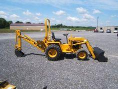 Cub Cadet Tractors, Big Tractors, Vintage Tractors, Lawn Tractors, Equipment For Sale, Heavy Equipment, Small Tractors For Sale, Sub Compact Tractors, Homemade Tractor