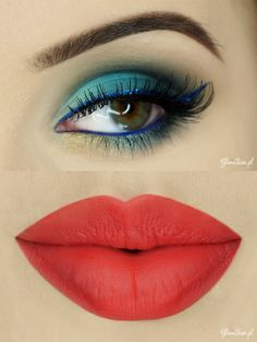 Check out our favorite Shark Bait inspired makeup look. Embrace your cosmetic addition at MakeupGeek.com!