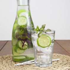 Make water more interesting this summer with these three infused water recipes that will keep you coming back for more!