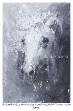 HORSE PAINTING Large Acrylic painting Horse Art Large   Etsy Artist Painting, Oil Painting On Canvas, Knife Painting, Your Paintings, Original Paintings, Horse Wall Art, Large Canvas Art, Xiamen, Extra Large Wall Art