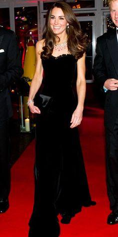 Kate Middleton. Alexander McQueen.