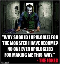 Joker 2019 Movie MEME,Quotes, Funny Pictures (Best Visit our website to enjoy latest memes and Funny pictures, more. Dark Quotes, Real Quotes, Movie Quotes, True Quotes, Quotes To Live By, Motivational Quotes, Inspirational Quotes, Short Quotes, Best Joker Quotes