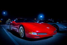 Corvette Coup C5 with Custom Wheels