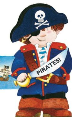 Pirates! (Mini People Shape Books) by Giovanni Caviezel,    Mini!!!  so cute