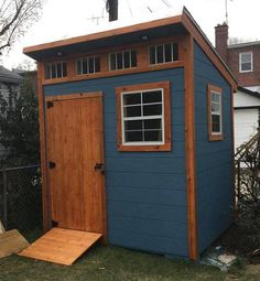 Want to build your own shed, but don't know how? Here are 159 easy DIY shed plans that you can build for your garden or backyard. Diy Storage Shed Plans, Small Shed Plans, Backyard Storage Sheds, Free Shed Plans, Garden Storage Shed, Small Sheds, Backyard Sheds, Outdoor Sheds, Cheap Storage Sheds