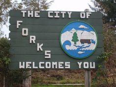 Forks, Washington.... TWILIGHT?? :)