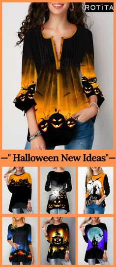Shop womens tops Tops online,Tops with cheap wholesale price,shipping to worldwide Halloween News, Halloween Prints, Halloween Fashion, Halloween Outfits, Halloween Party, Halloween Costumes, Cool Outfits, Summer Outfits, Fashion Outfits