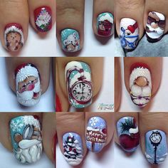 nail art design gallery nail designs coffin elegant nail designs for short nails kiss nail stickers best nail stickers best nail wraps 2019 nail designs for fall nail designs for short nails 2019 nail stickers walmart best nail stickers nail art strips Nail Art Noel, Xmas Nails, New Year's Nails, Winter Nail Art, Christmas Nail Art, Holiday Nails, Winter Nails, Valentine Nails, Halloween Nails