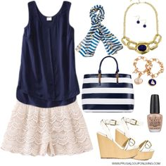 navy-summer-outfit-crochet-shorts-frugal-fashion-friday-frugal-coupon-living