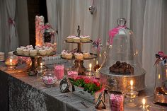 wedding sweets table wedding reception