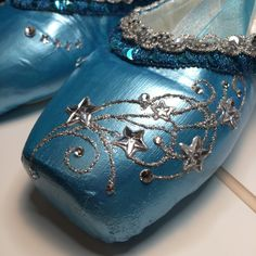 Cinderella Fairy Godmother Pointe Shoes
