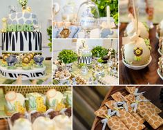Elegant Baby Shower Ideas | The King of the Jungle has arrived! Create a cute and whimsical jungle ...