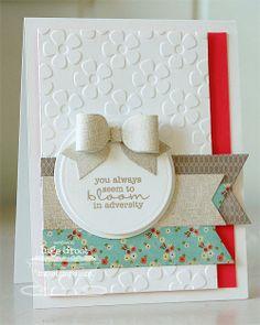 Patterned Paper : Build A Card-Kit June 2013, Bonus Card