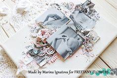 Freetany Flowers: Свадебный холст. Вдохновение от Марины Игнатовой