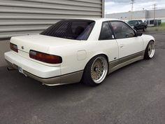 #nissan #s-chassis #zenki #kouki #hatchback #coupe #sileighty #onevia #varietta #240sx #180sx #silvia #s13 #s14 #s15