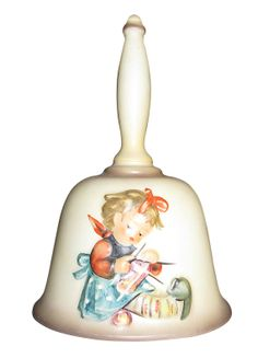 Hummel Porcelain Bell  1983 by RumorsFineGifts on Etsy, $10.00