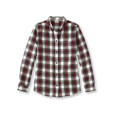 Scotch Plaid Shirt ($35) ❤ liked on Polyvore featuring tops, flannel shirts, relaxed fit shirt, button front shirt, plaid shirt and tartan plaid shirt