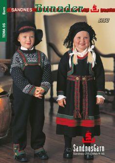 Bilderesultat for mønster til bunad How To Start Knitting, Knitting For Kids, Free Knitting, Baby Knitting, Knitting Patterns, Folk Costume, Costumes, Norwegian Knitting, Baby Barn