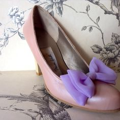 'Marie' - Strawberry Ice Cream shoes - Handmade by Marsha Hall Created for an Ice cream Collection  Perfect bespoke shoes for Weddings and special occasions  Visit Marsha Hall's site -  http://www.marshahall.com/