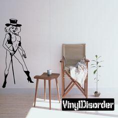 Sexy Girl Wall Decal - Vinyl Decal - Car Decal - CF12169