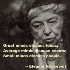 Let's all have great minds