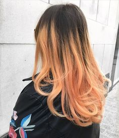 Incredible blorange balayage hair by VoodouBecky on blogger babe @blogbeth at our Bold Street hair salon, Liverpool  #hairgoals #blorange #blorangehair #hairtrends