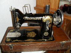 antike Naumann Nähmaschine -erste elektrische- in in Alsfeld   eBay
