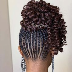 Box braids in braided bun Tied to the front of the head, the braids form a voluminous chignon perfect for an evening look. Box braids in side hair Placed on the shoulder… Continue Reading → Unique Braided Hairstyles, Twist Hairstyles, Braided Updo, Woman Hairstyles, Fashion Hairstyles, Protective Hairstyles, Hairdos, Blonde Braids, Braids With Curls