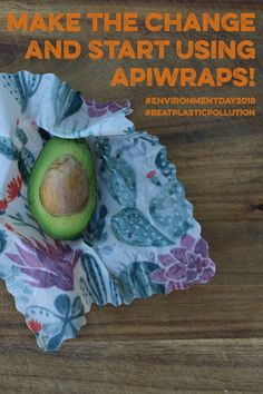 STOP using plastic wrap and change to #beeswaxwrap #Apiwraps to keep our #environment safe! #environmentday2018 #beatplasticpollution